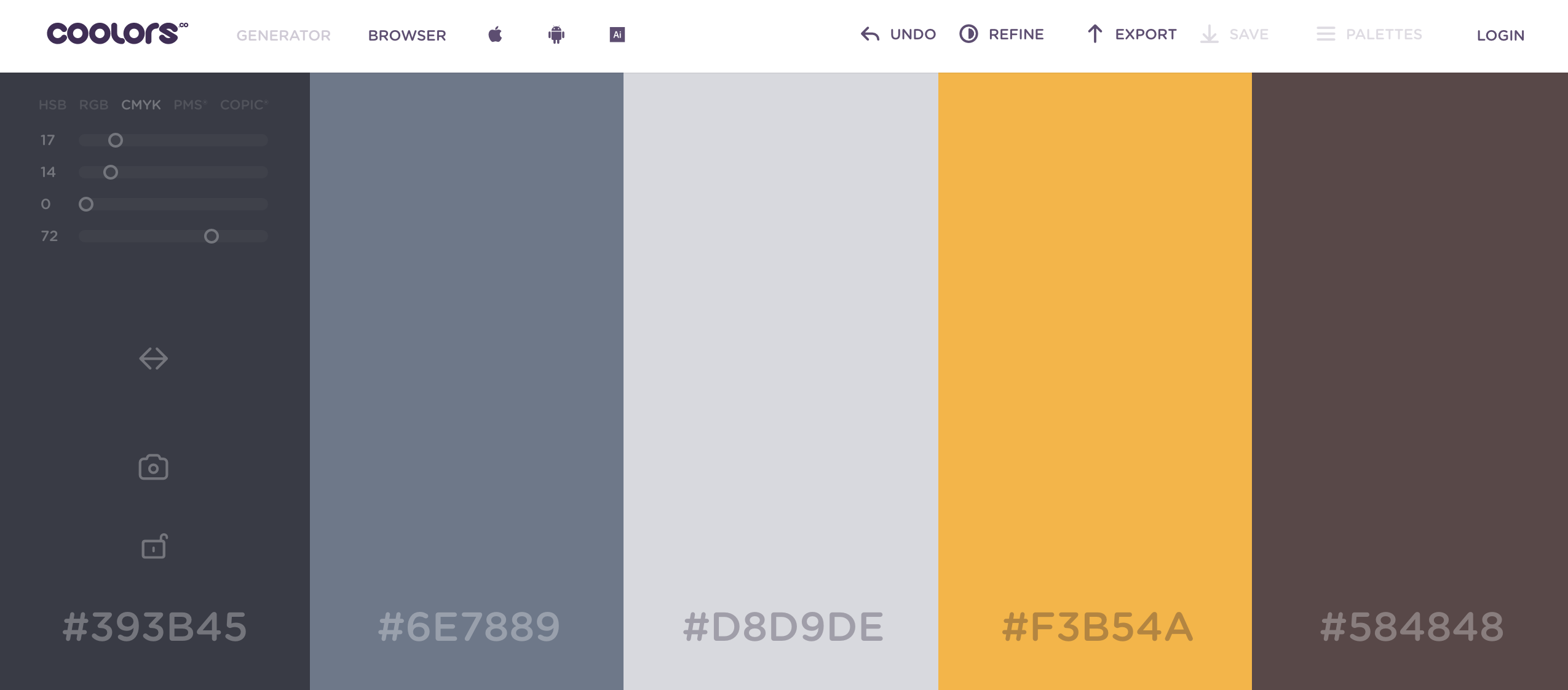 Color palettes: 13 useful tools that will help you create color