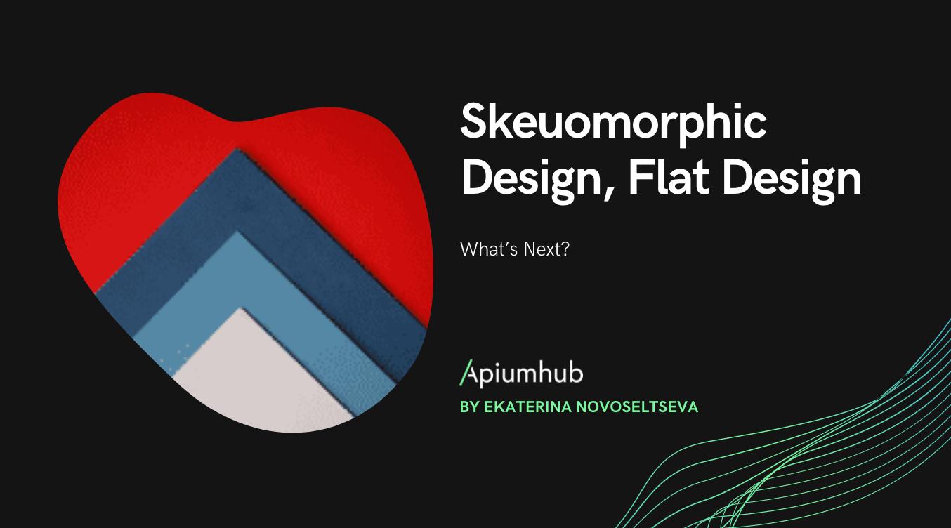 Skeuomorphic Design, Flat Design