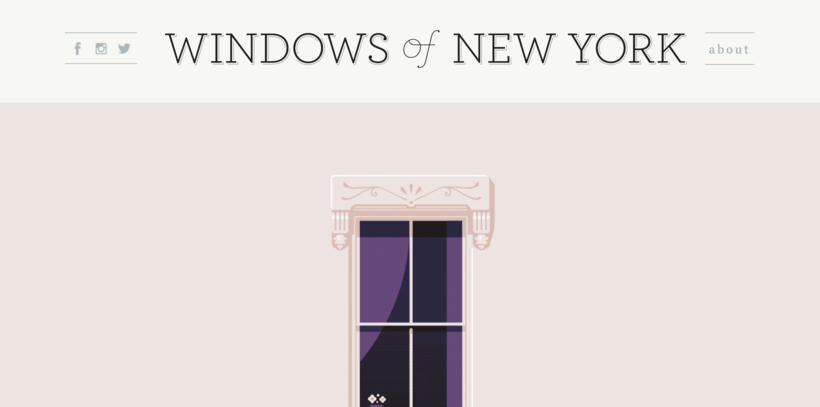 windoes of new york colors