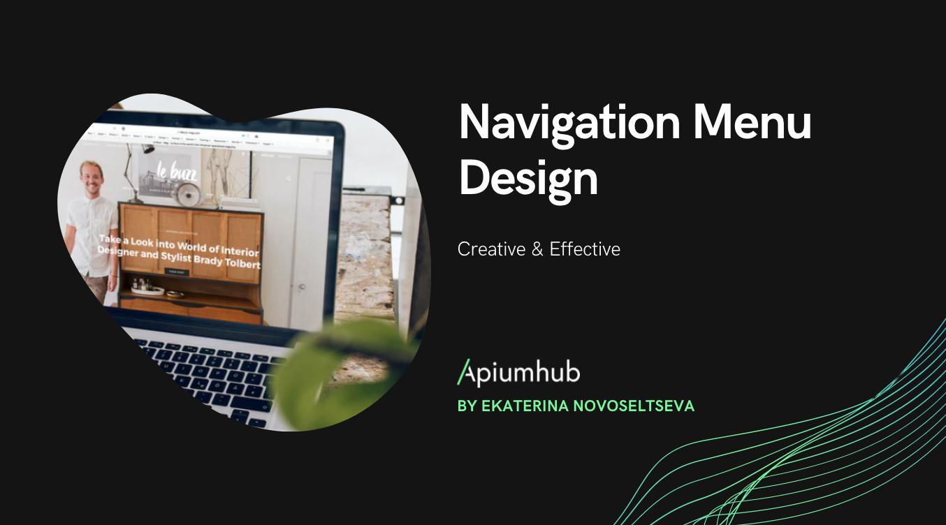Navigation Menu Design