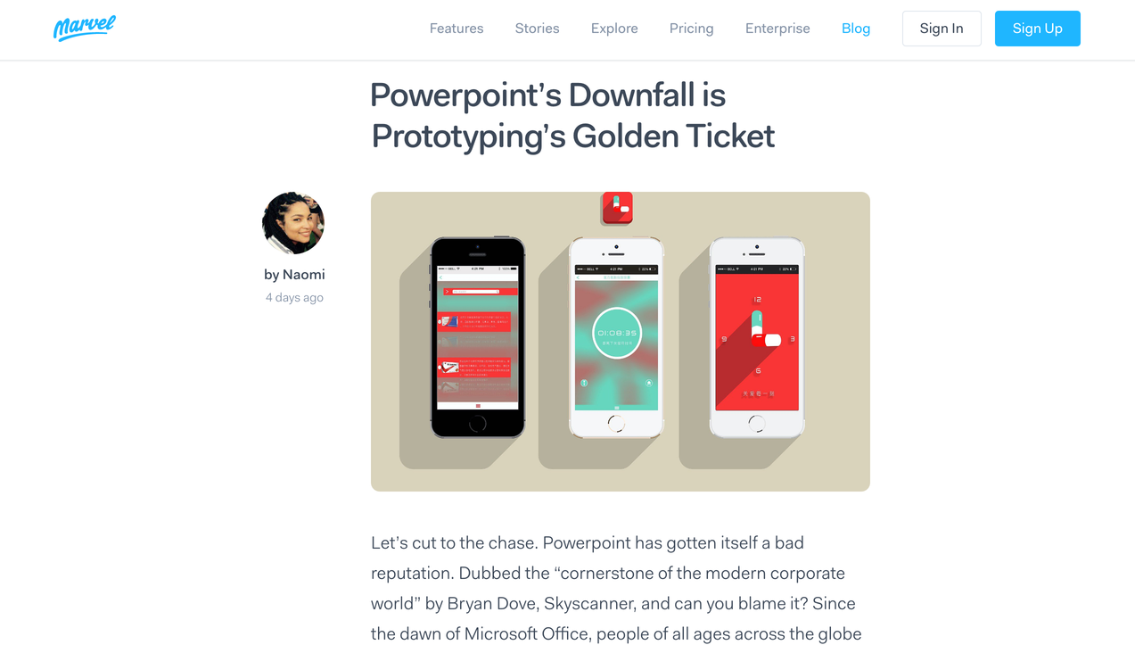 UX design inspiration examples