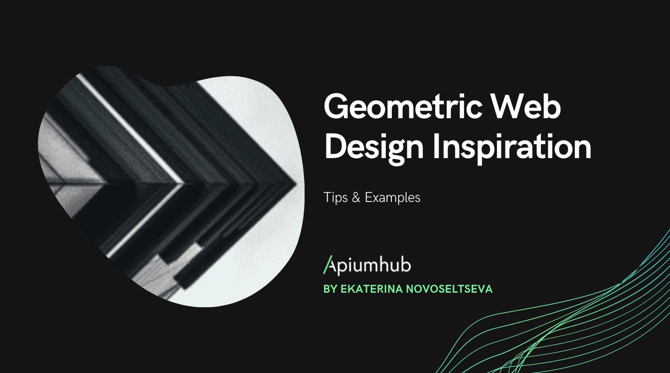 Geometric Web Design Inspiration