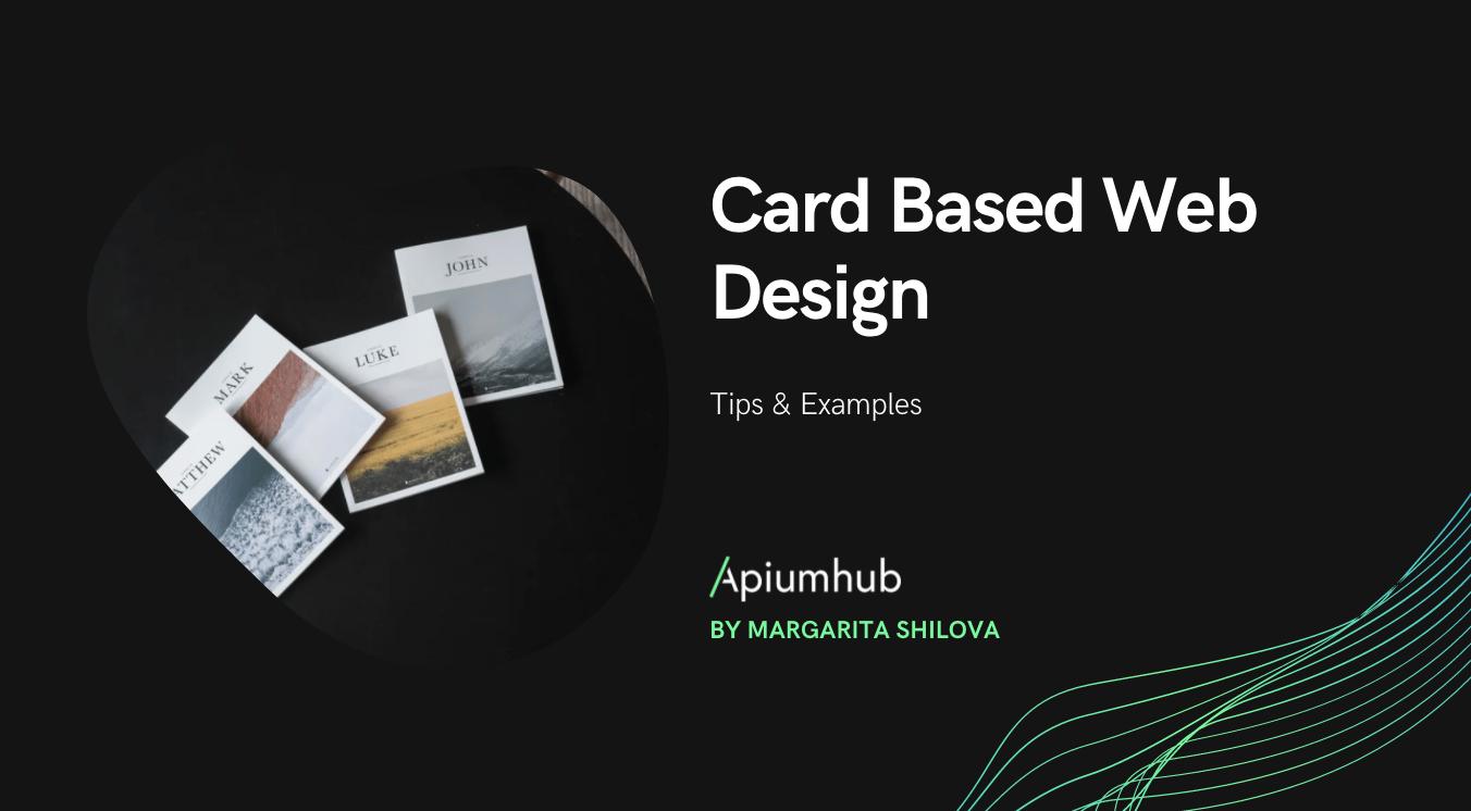 Card Based Web Design