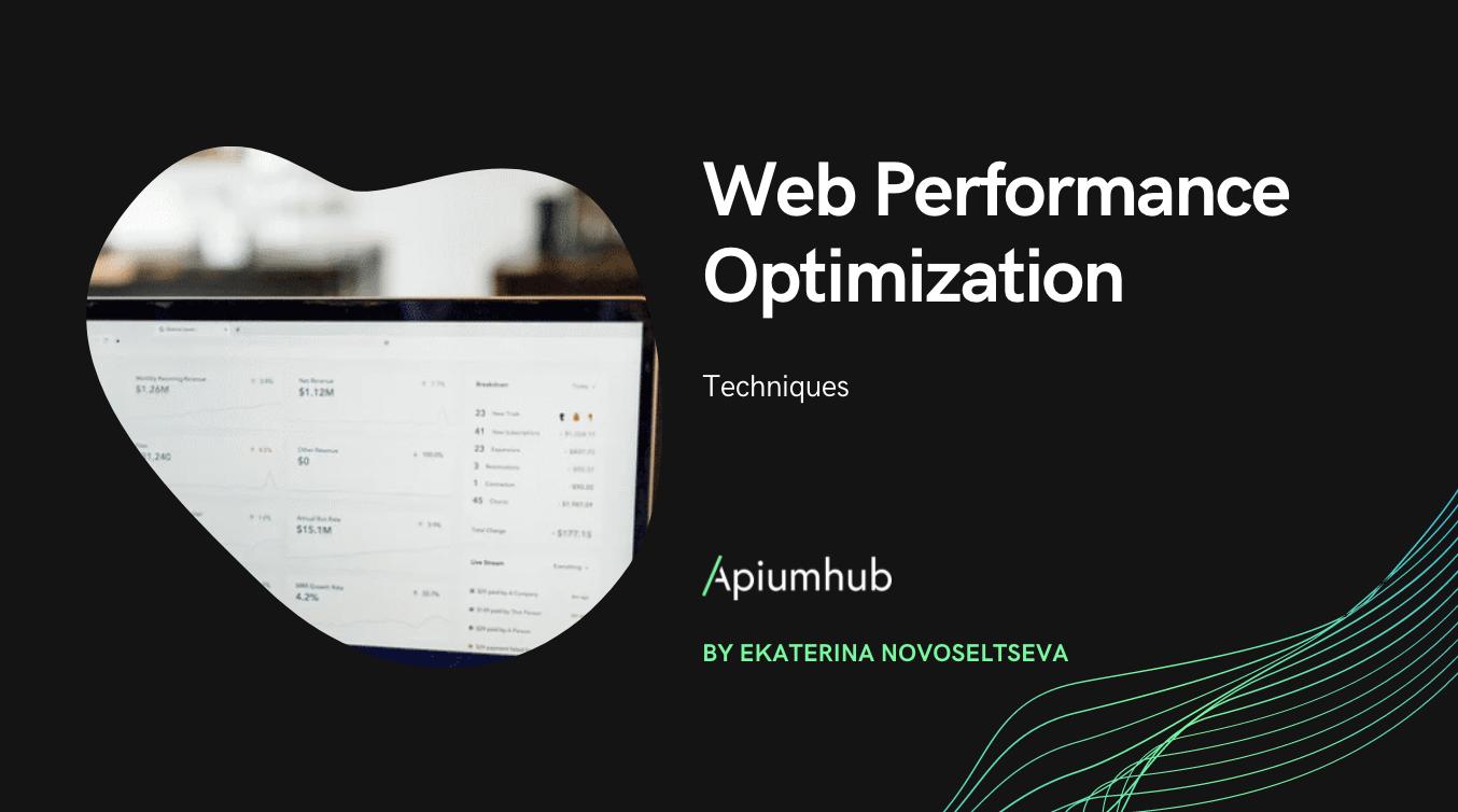 Web Performance Optimization Techniques
