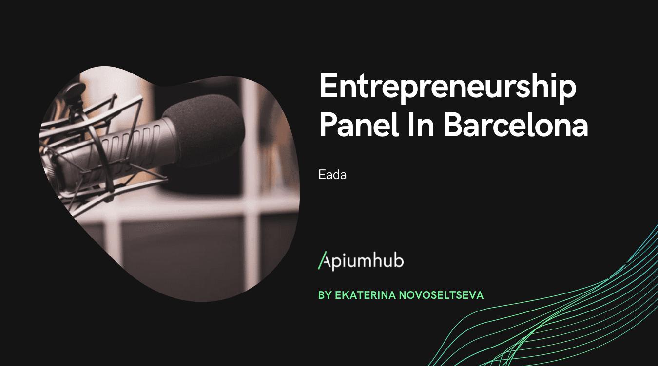entrepreneurship panel in Barcelona