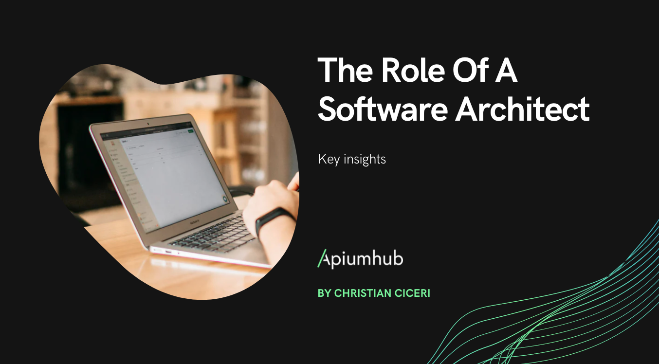 The Role Of A Software Architect