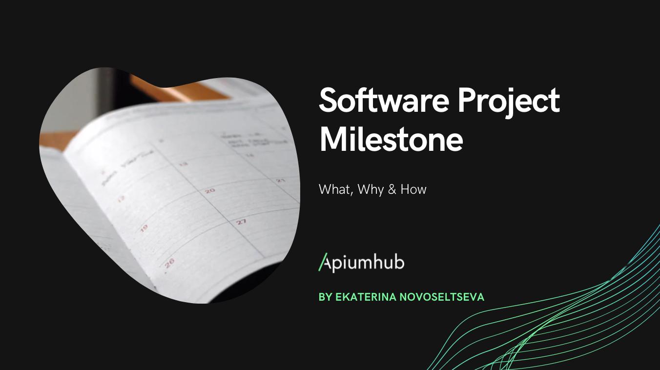 Software Project Milestone