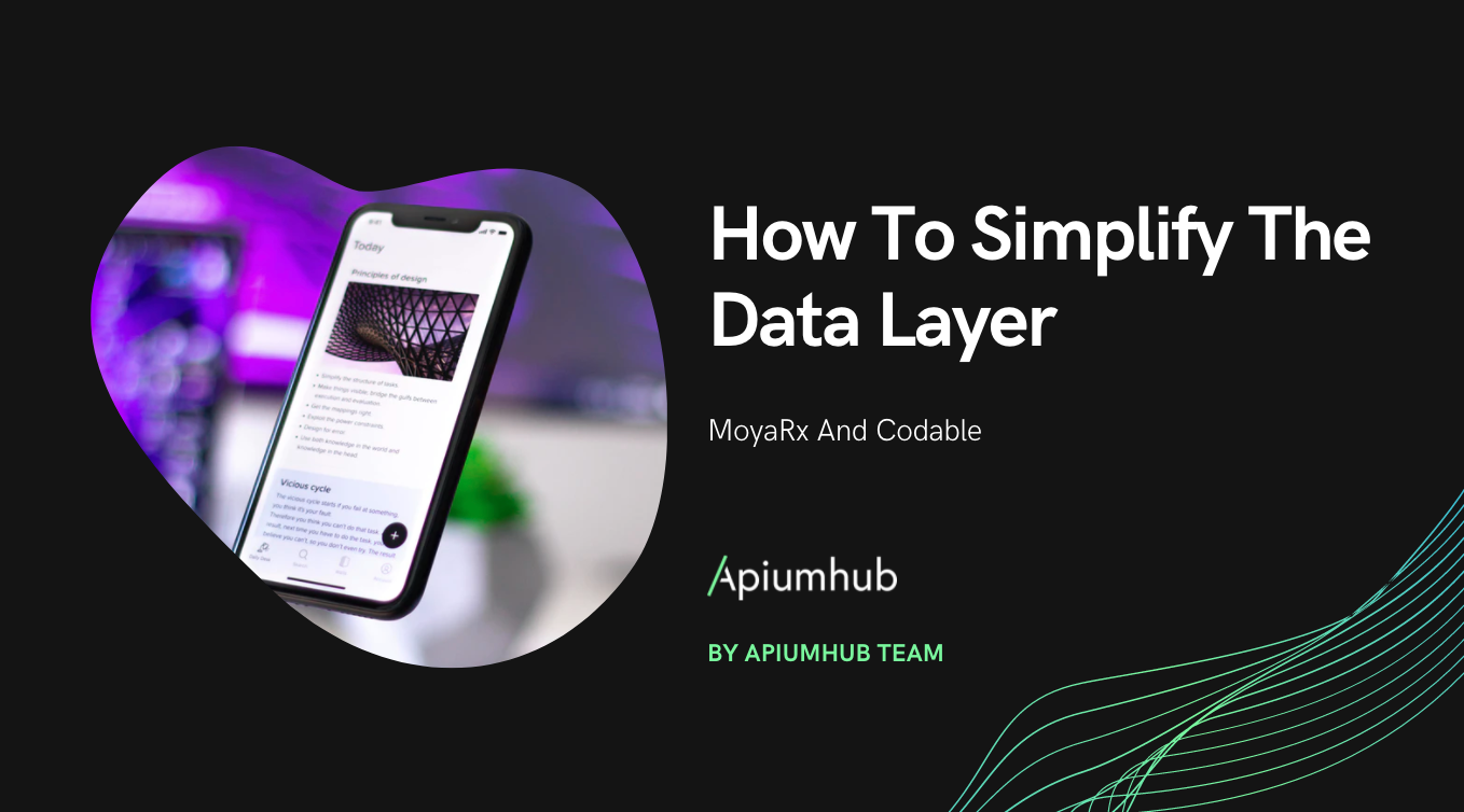 How to simplify the data layer with MoyaRx and Codable