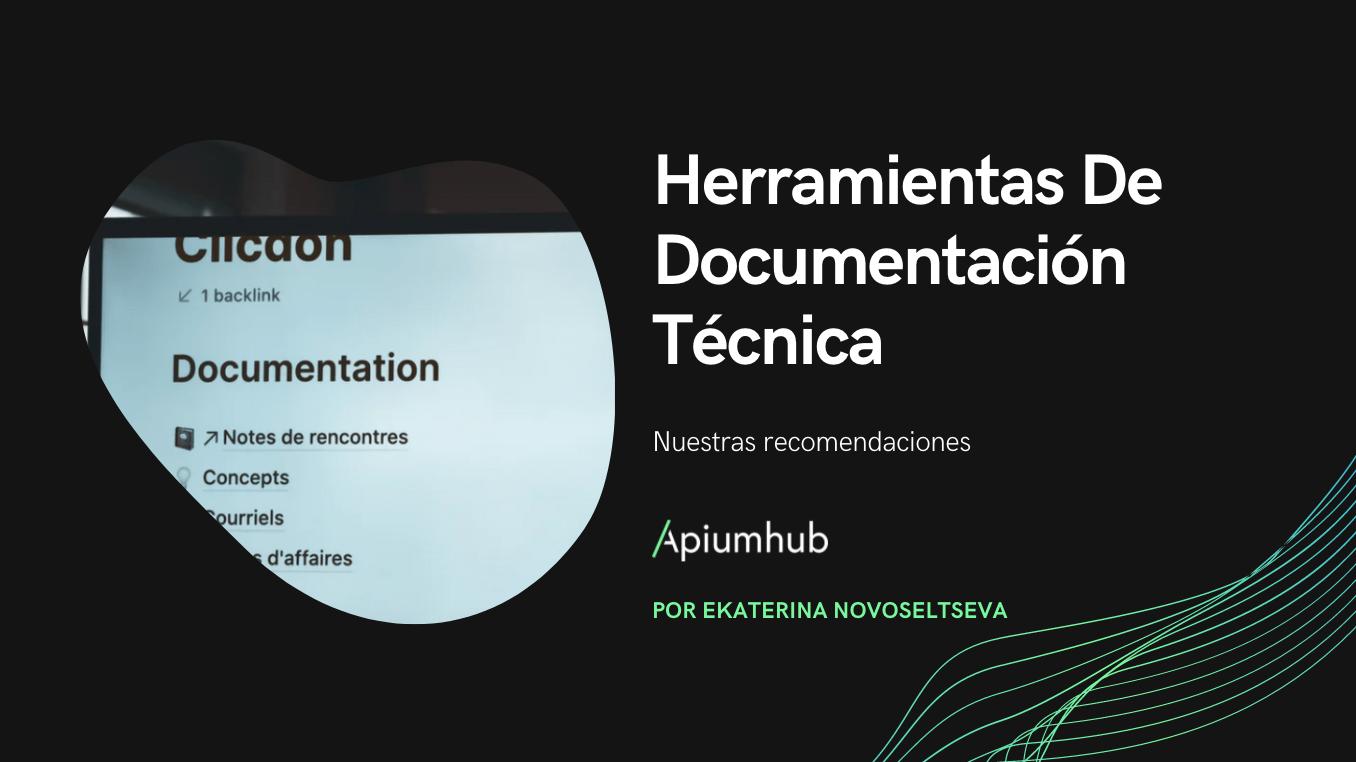 Herramientas de documentación técnica
