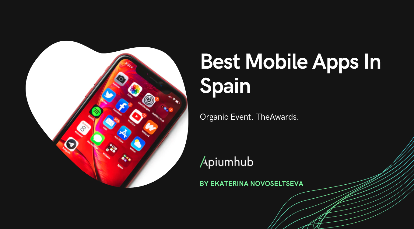 Organic Event. TheAwards: Best mobile apps in Spain 2018