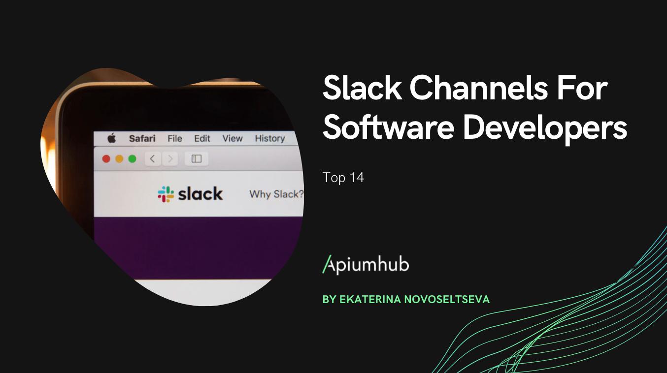Slack Channels For Software Developers
