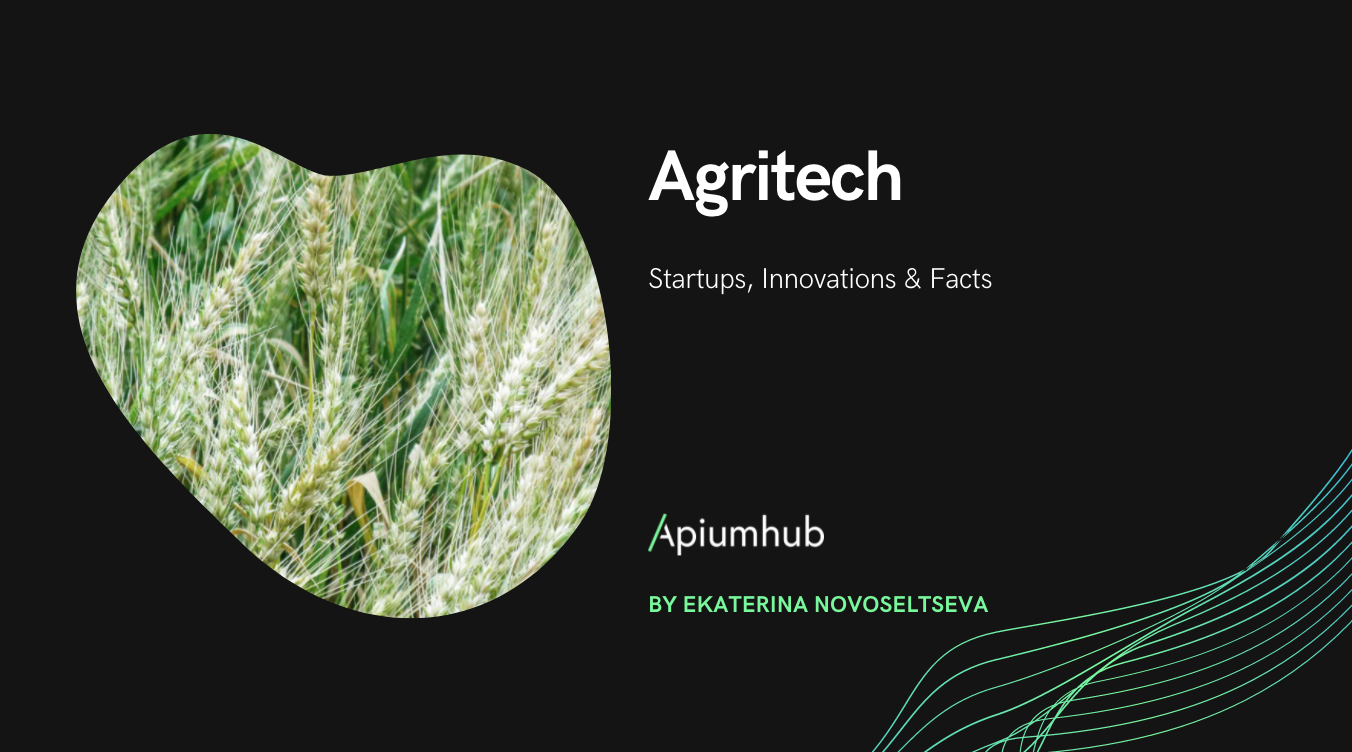 Agritech startups, innovations & facts