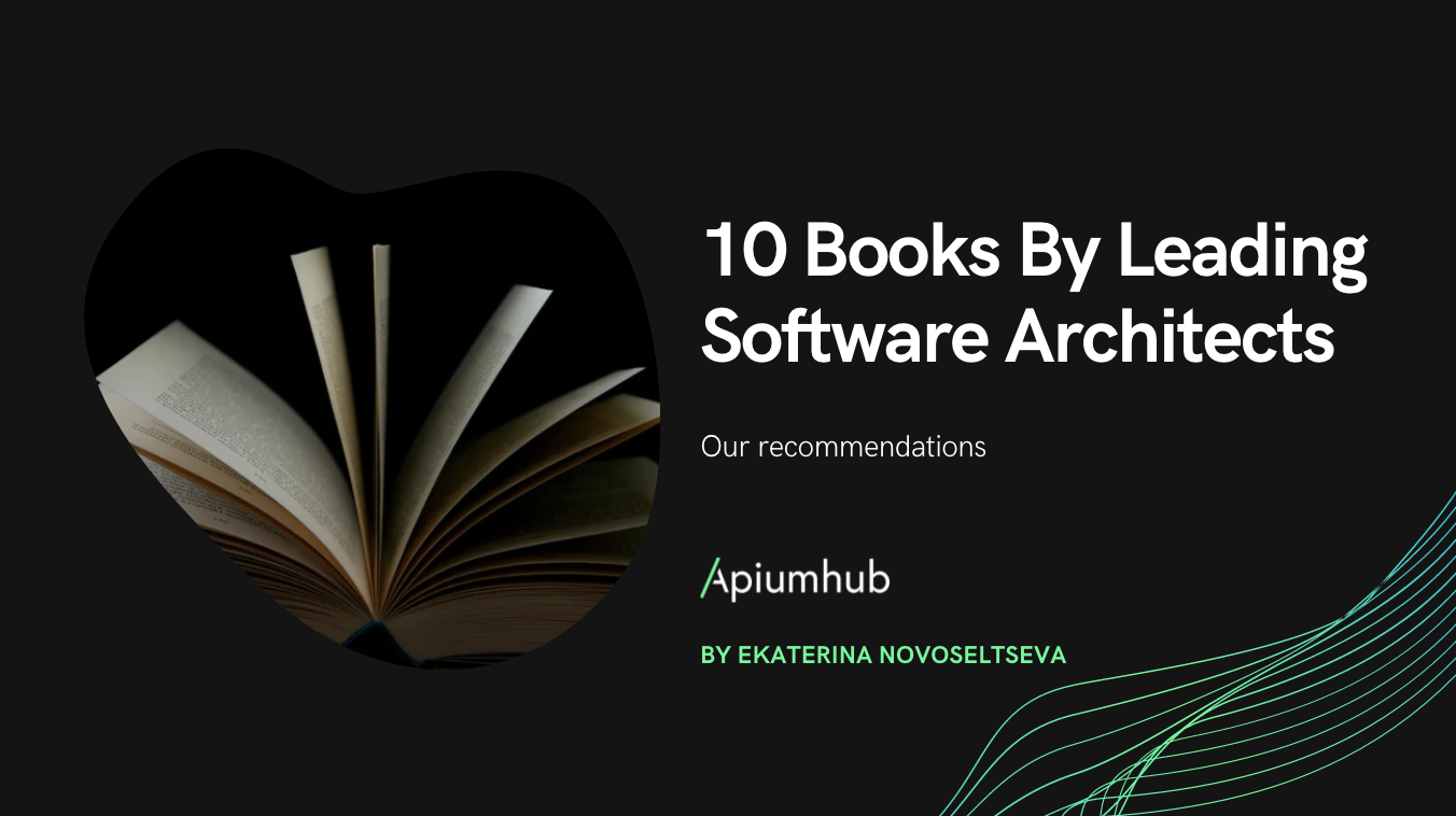 10 Books by leading software architects