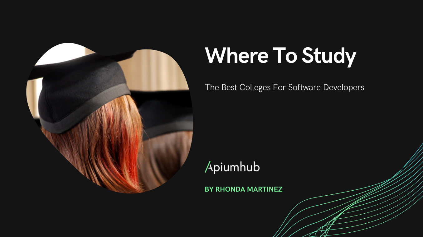 The Best Colleges For Software Developers