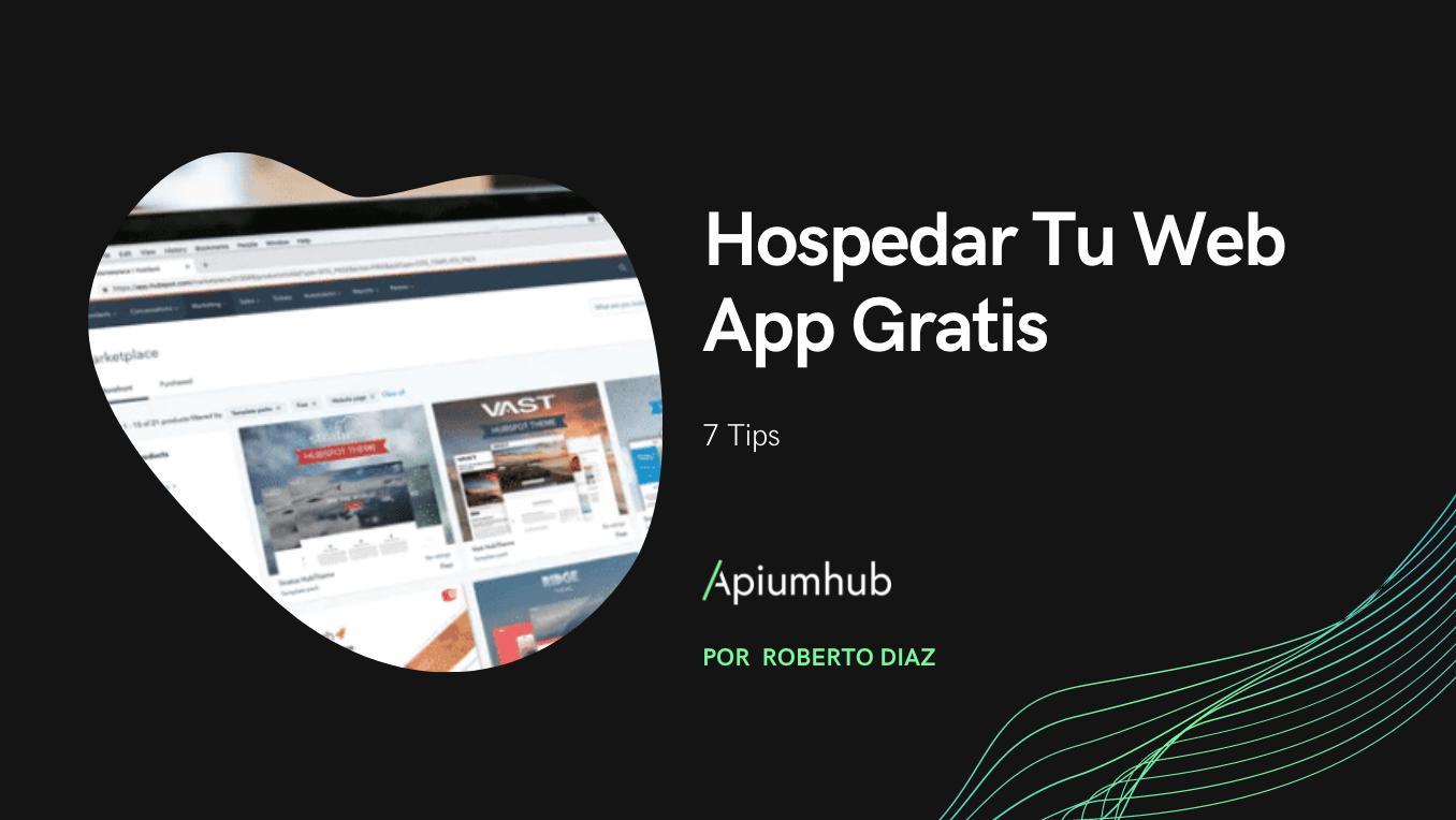 Hospedar Tu Web App Gratis