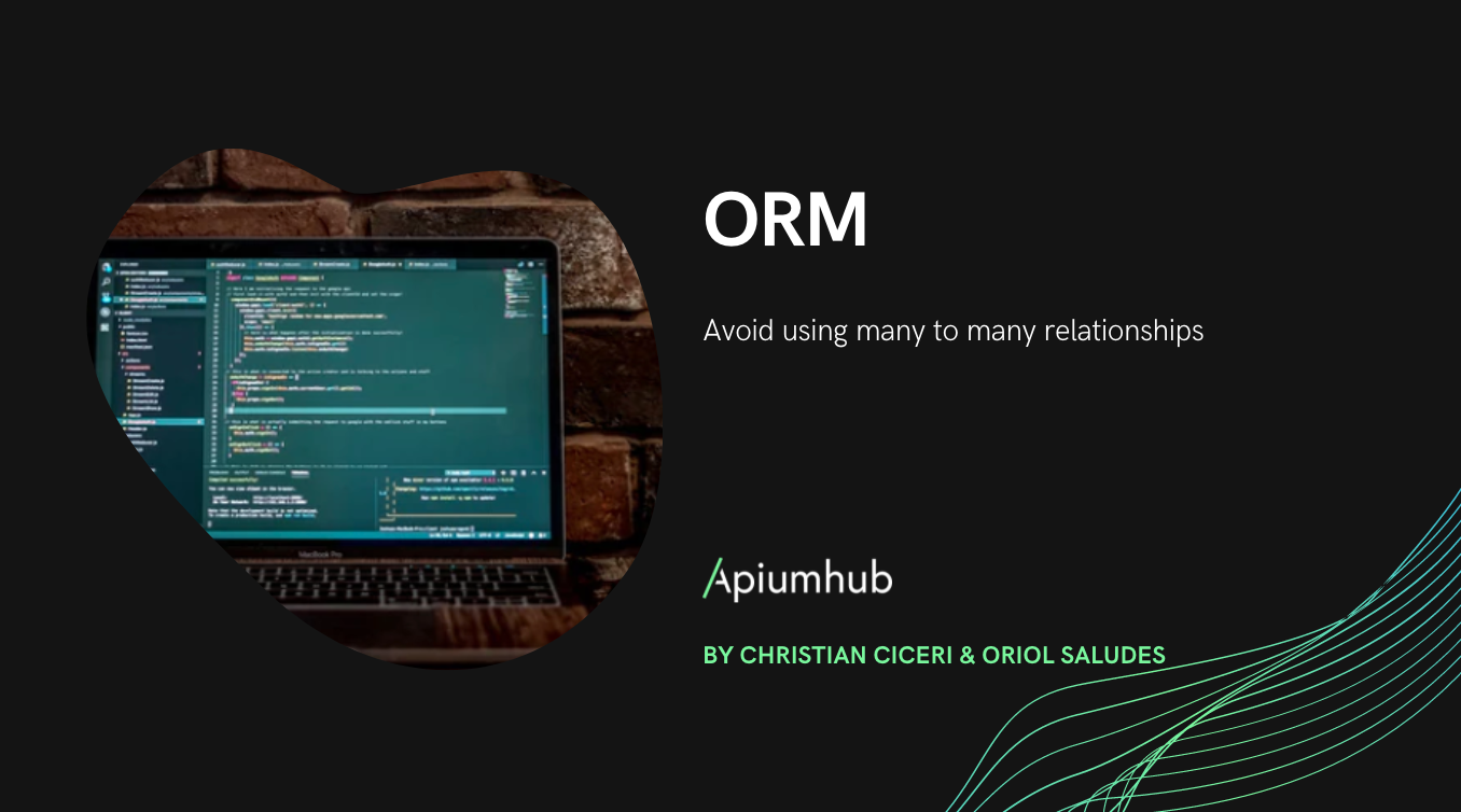 ORM: avoid using many to many relationships