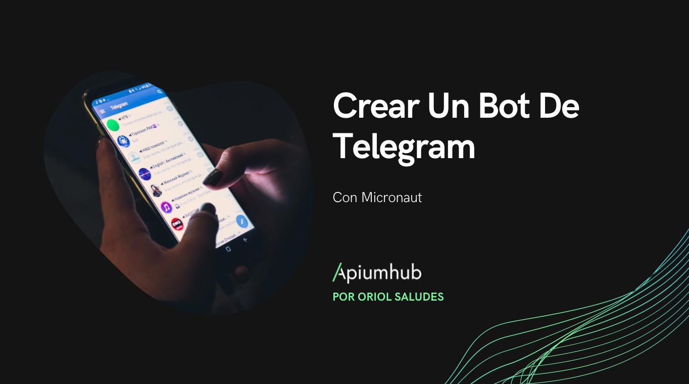 Crear un bot de Telegram con Micronaut