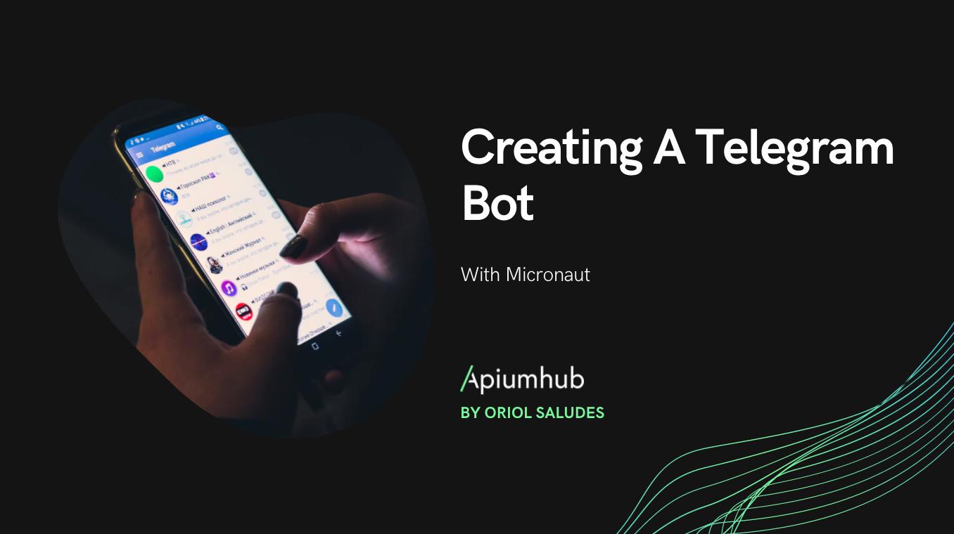 Creating a Telegram bot with Micronaut