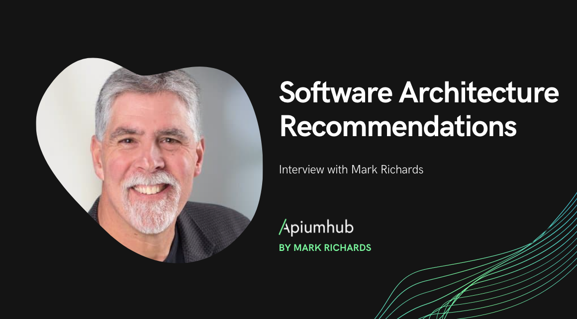 Software architecture recommendations by Mark Richards