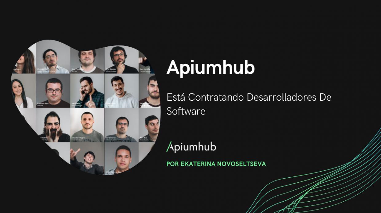 Apiumhub Está Contratando Desarrolladores De Software apiumhub