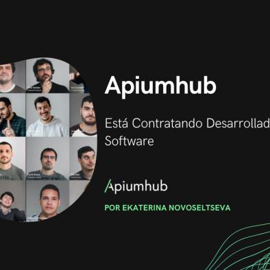 Apiumhub está contratando desarrolladores de software