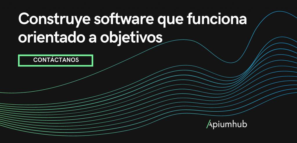 Construye software que funciona orientado a objetivos BANNER