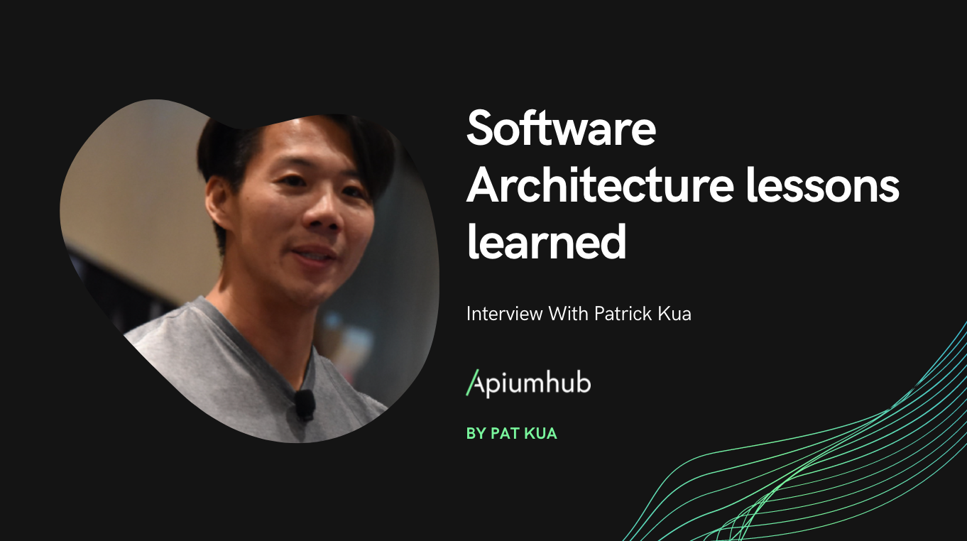 Software architecture lessons learned