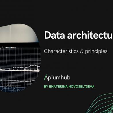 Data architecture characteristics &  principles