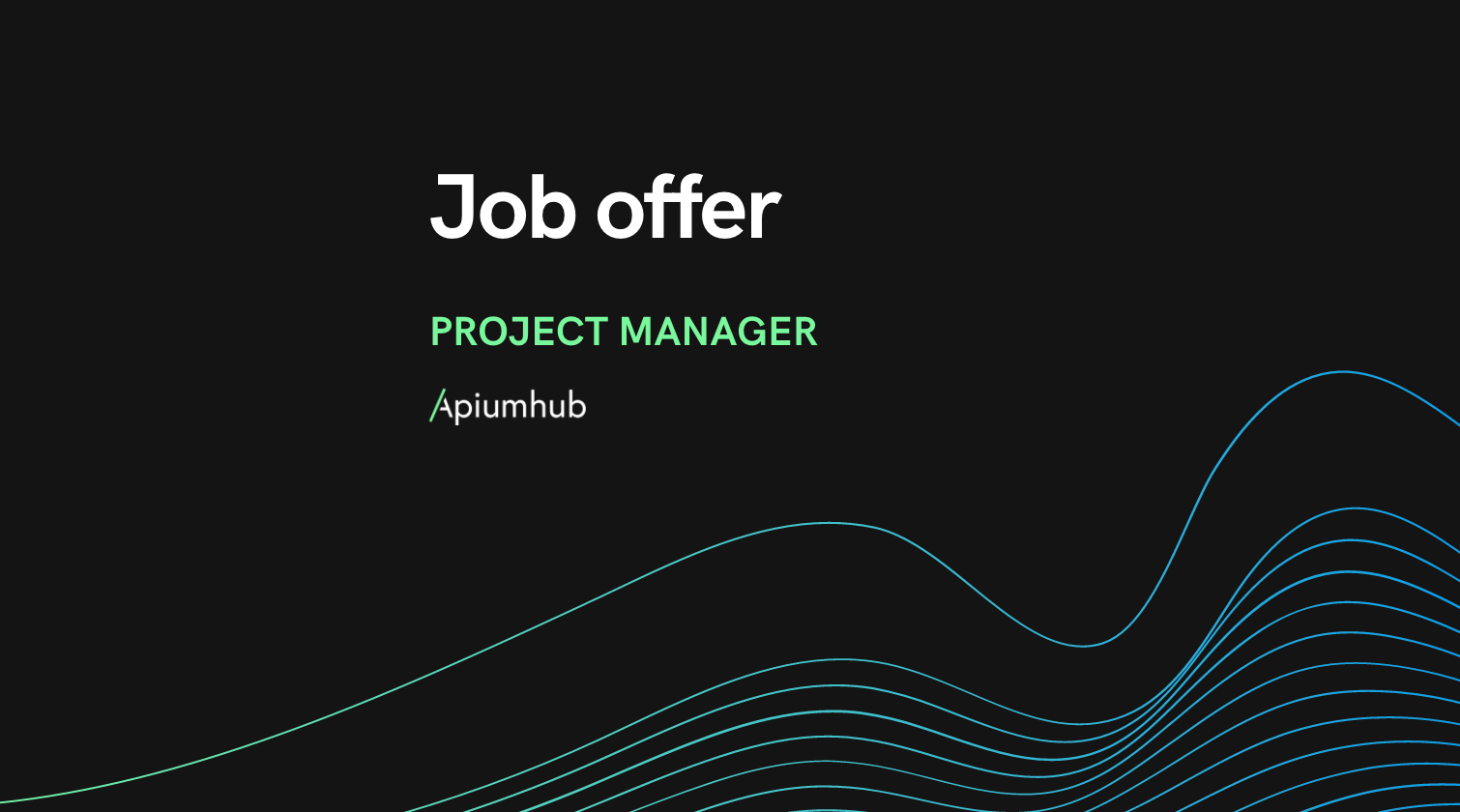 Project manager jo offer apiumhub