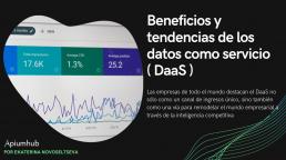 tendencias de los datos como servicio