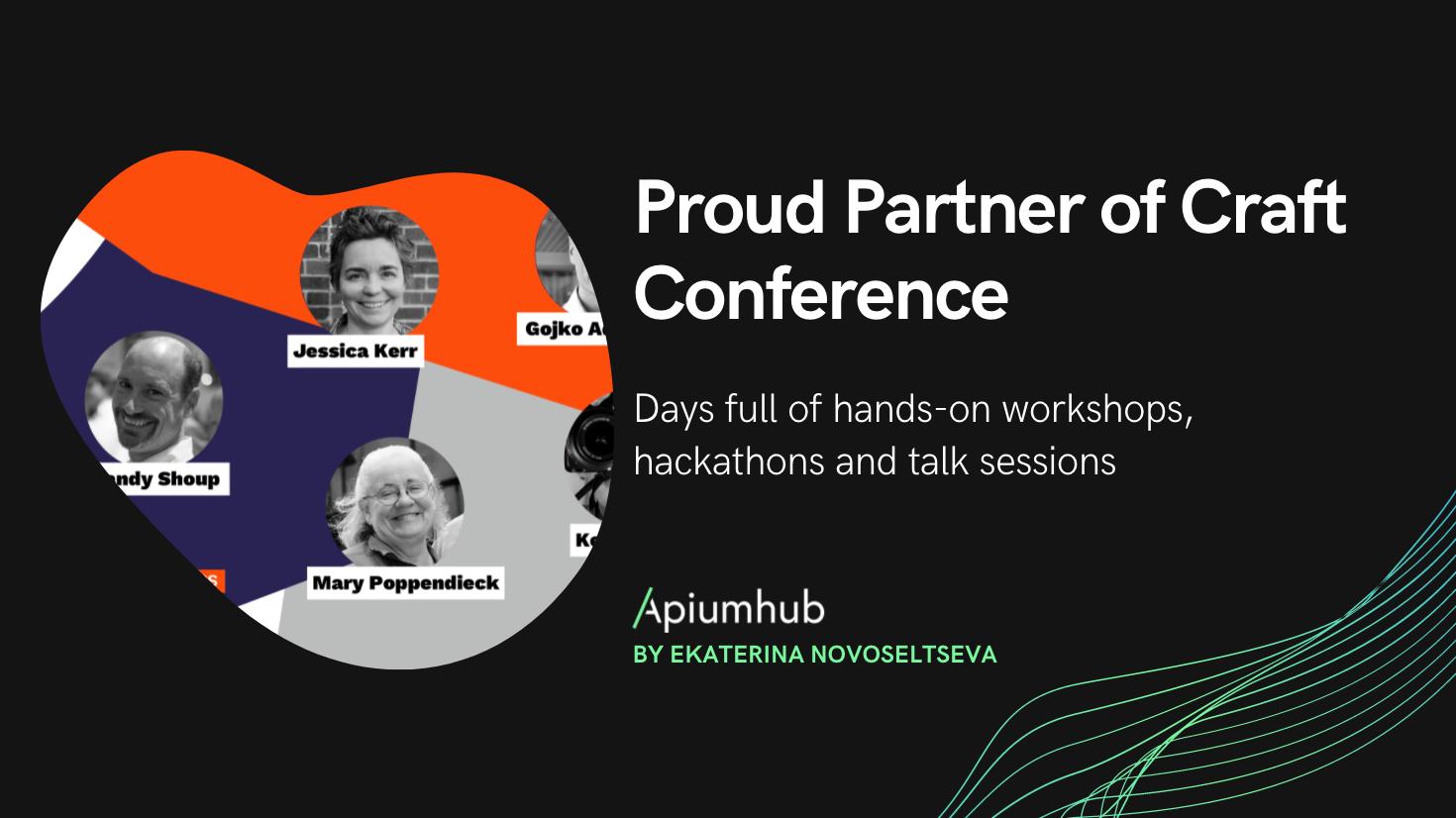 Apiumhub - proud partner of Craft Conference