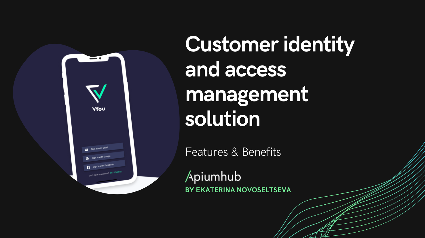 Customer identity and access management solution