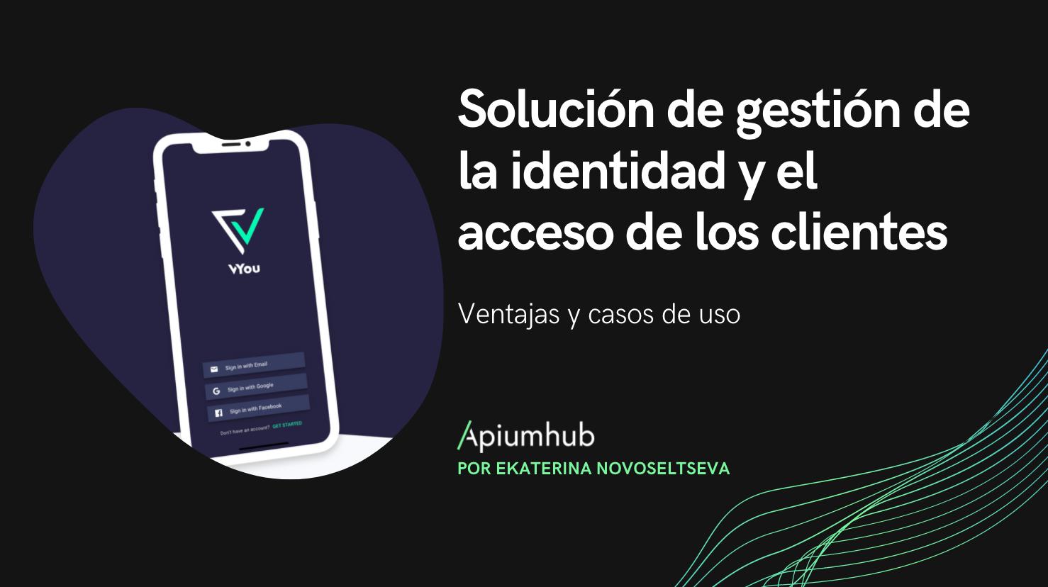Solución de gestión de la identidad y el acceso de los clientes