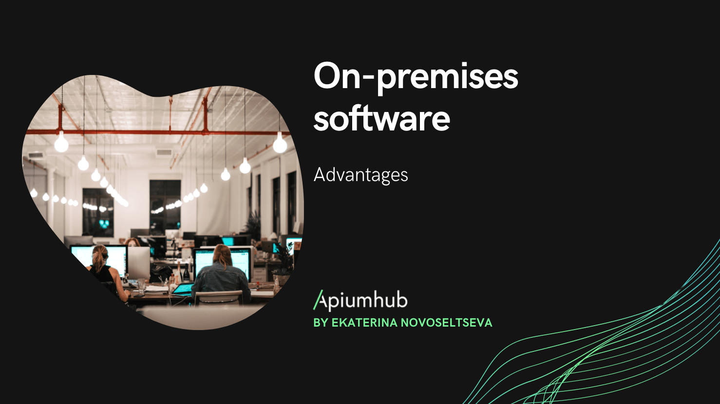 On-premises software advantages