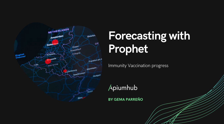 Forecasting Immunity Vaccination progress with Prophet