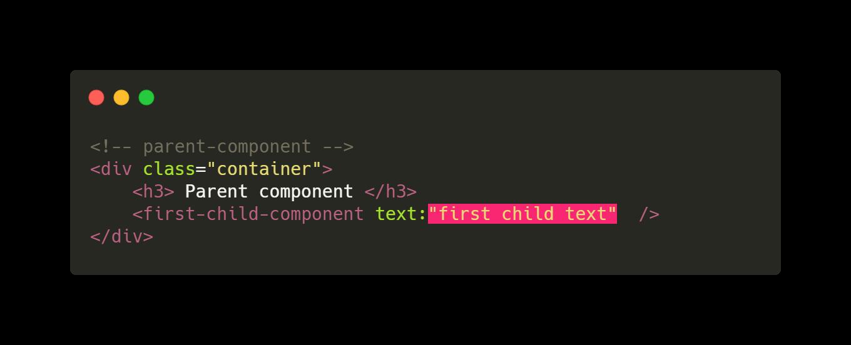 slot parent component