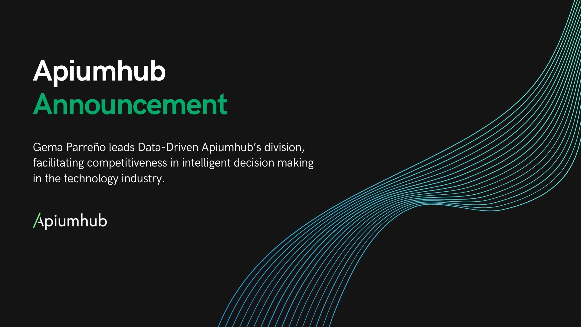 data announcement