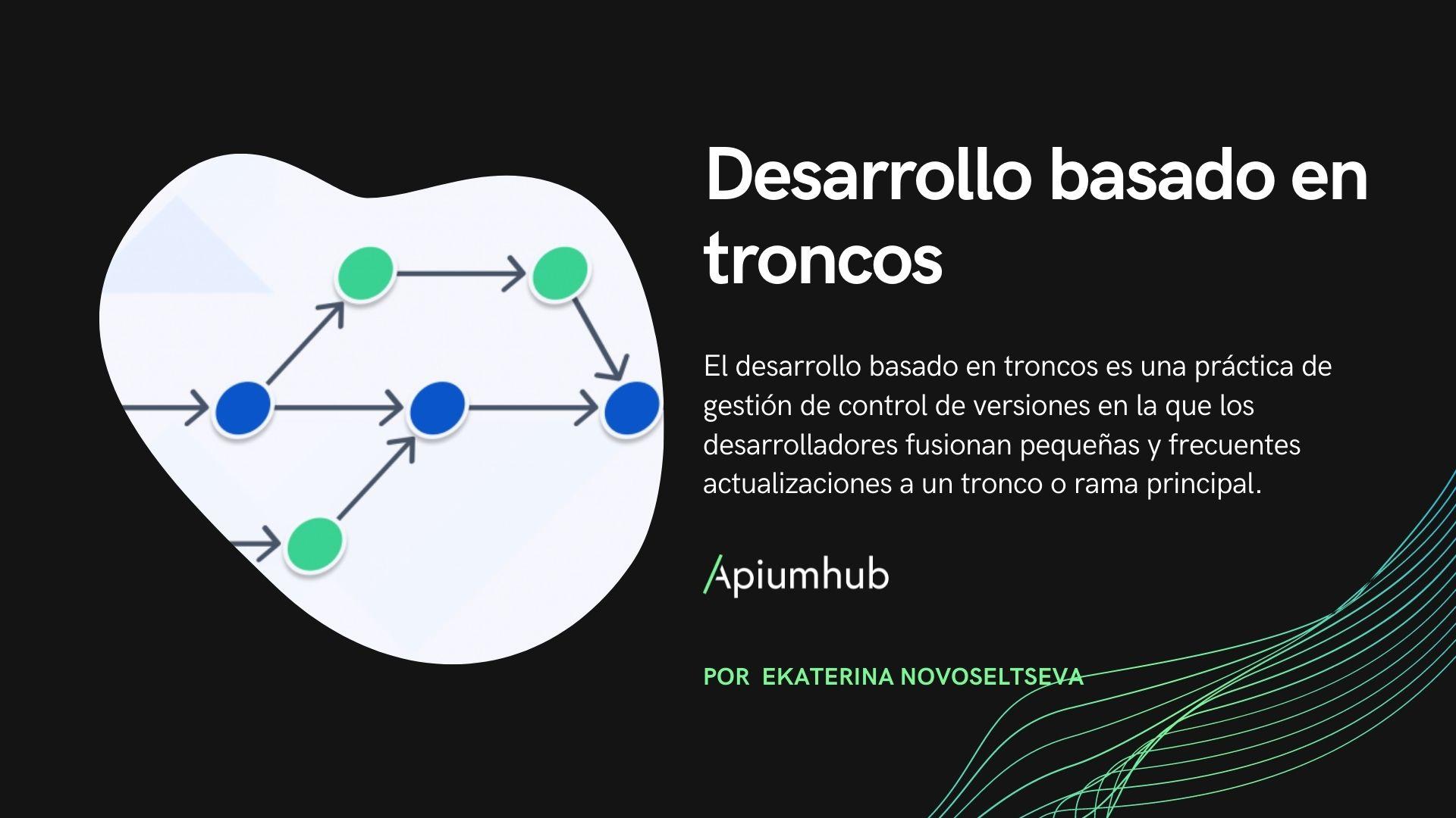 trunkbased development ES